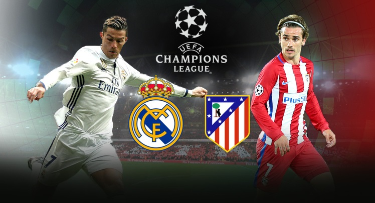 Twitter and Real Madrid vs Atlético in semifinals of Champions League